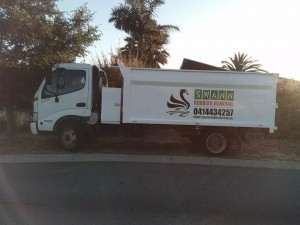 swann rubbish removal truck