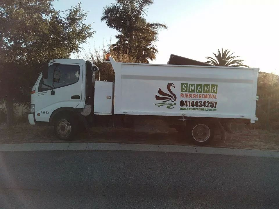 Image of our Swann Rubbish Removal Truck in Perth